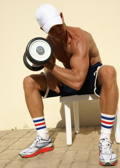 Workout Fitness Magazine Exercises: Work that Biceps!