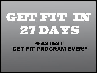 Get fit in 27 days